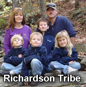 The Richardson Tribe - Hosts of PB&J Adventures